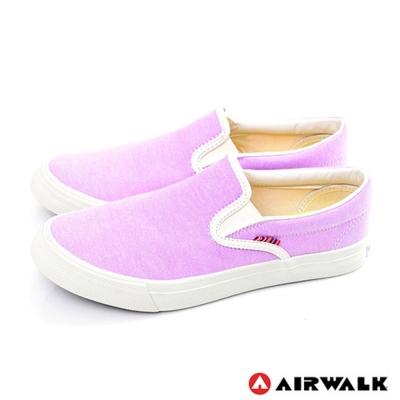 【美國 AIRWALK】馬卡龍帆布鞋-女(紫色)
