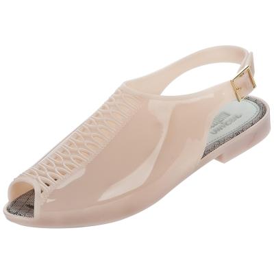 MELISSA +吳季剛合作款果凍涼鞋-粉膚