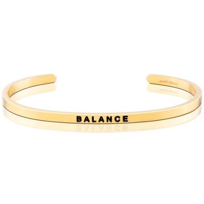 MANTRABAND BALANCE 金色手環 完美平衡 附原廠盒