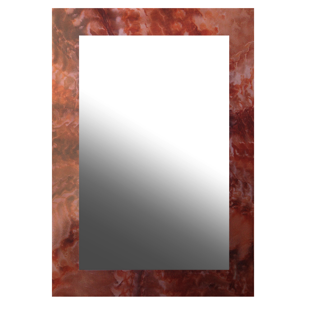 【愛麗絲仙鏡】膠合鏡-紅金峰大理石紋