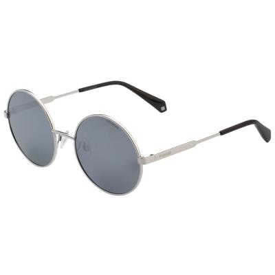 Polaroid 寶麗萊 偏光 水銀面 太陽眼鏡 (銀色)