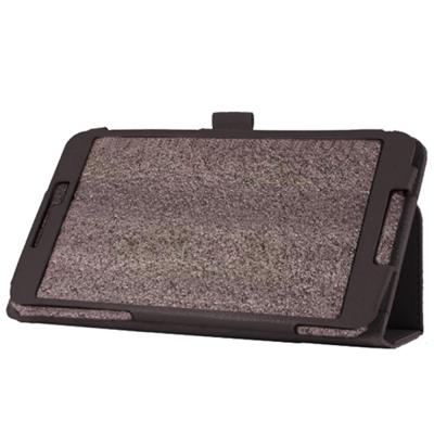 華碩ZenPad 8.0 Z380C/Z380KL 荔枝紋背立式【皮套+保護貼組】
