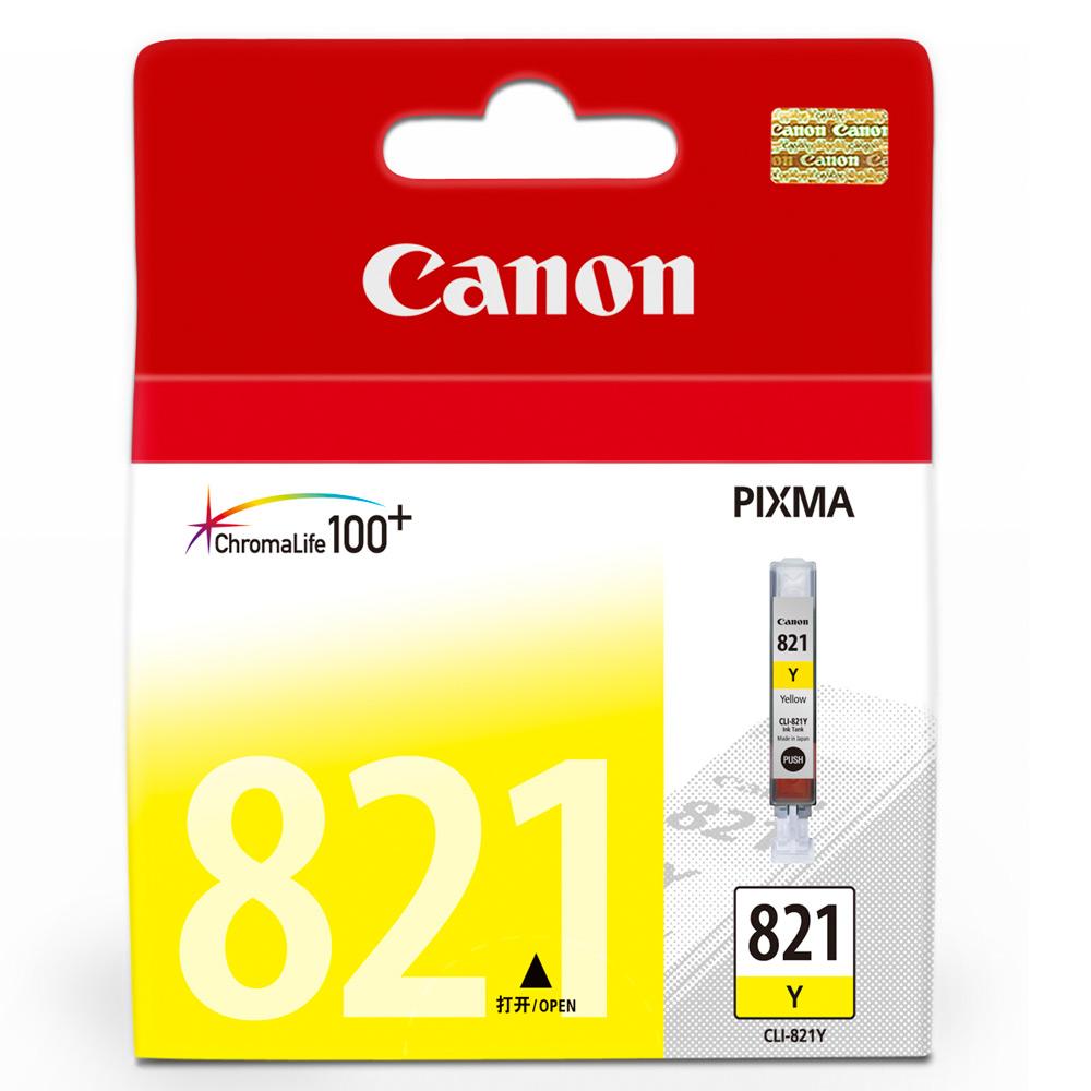 CANON CLI-821Y 黃色墨水匣