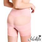 Mollifix X牛仔肚 收腰翹翹3分褲 (桃粉)