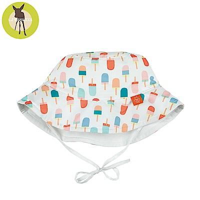 德國Lassig-嬰幼兒抗UV海灘遮陽帽-冰淇淋