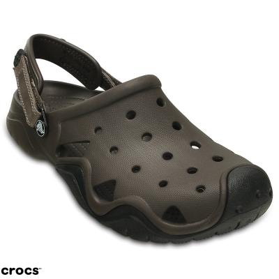 Crocs 卡駱馳 (男鞋) 激浪克駱格 202251-23K