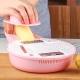 PUSH!廚房用品 防切手多功能磨碎沫刨絲器切絲切片切菜器(嬰兒輔食)D101 product thumbnail 1