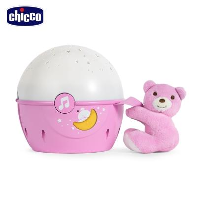 chicco-Next 2 Me專用星星投射晚安熊(粉紅)
