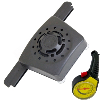 omax豪華型分離式太陽能車內降溫器(加贈高級胎壓表)-快