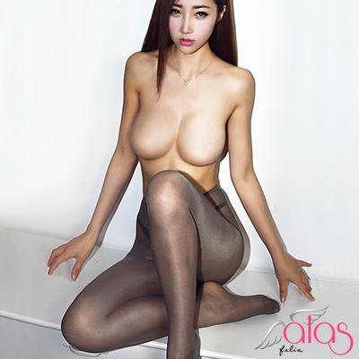 褲襪 15D極度誘惑光澤微香絲襪 (灰色- 開襠款) alas