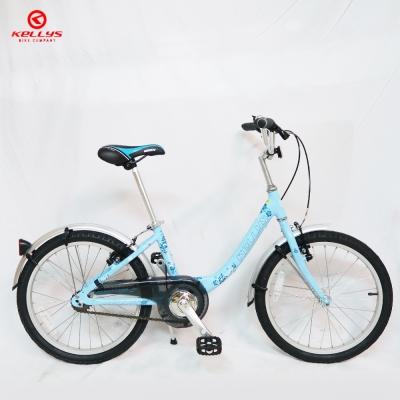 KELLYS Cindy 20吋單速鋁合金淑女車/童車-藍