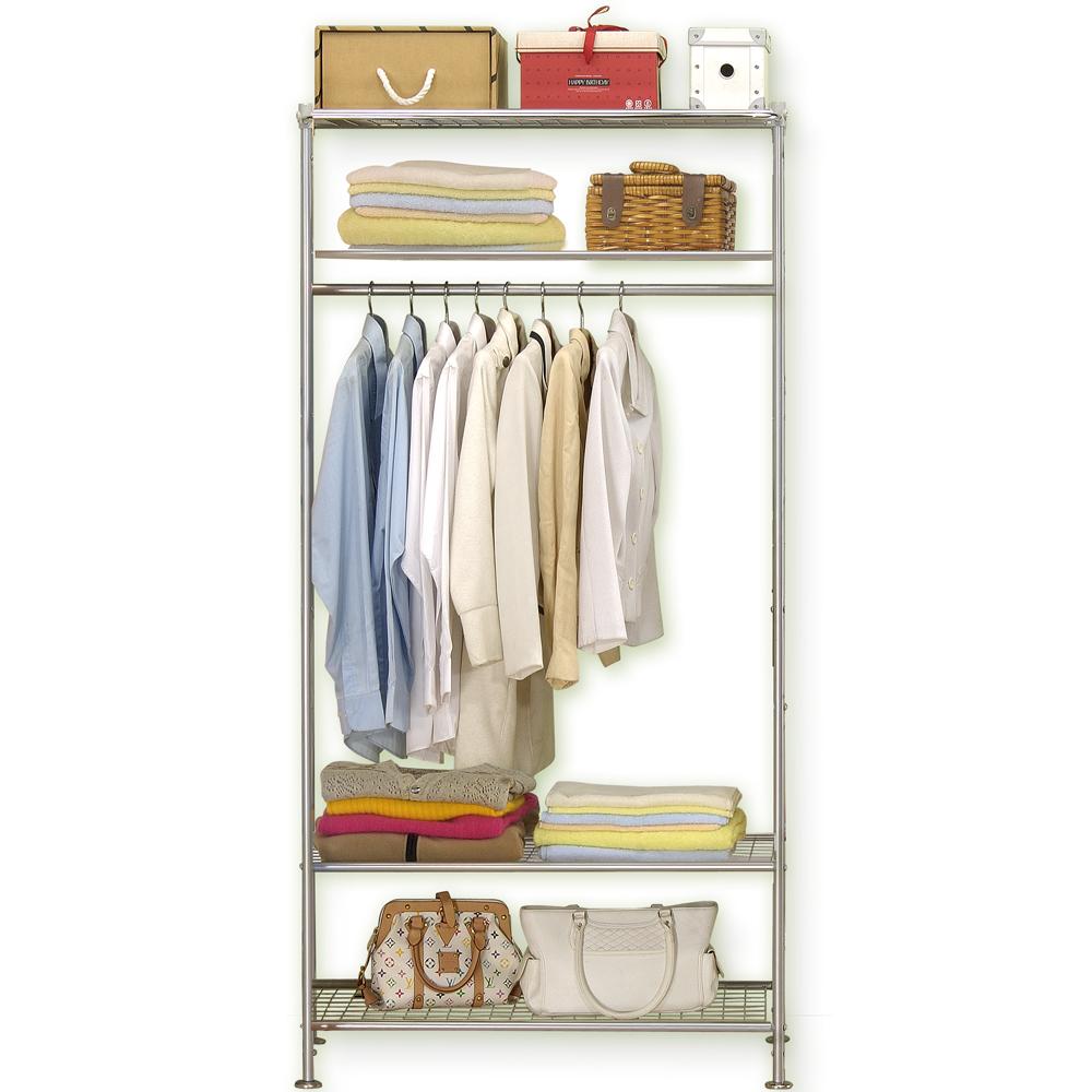 巴塞隆納─WP4型90公分衣櫥架 (無防塵)
