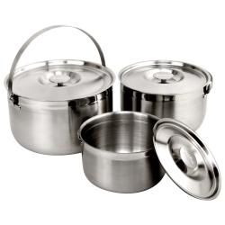 MoLiFun魔力坊 台灣製316不鏽鋼內鍋/調理鍋/三件式提鍋(16+19+22CM)