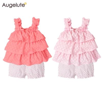 baby童衣 水玉點點無袖上衣+四角褲 2件套 61138