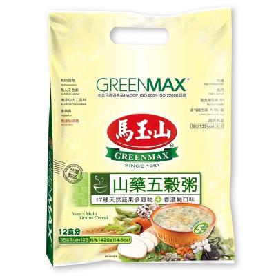 馬玉山 山藥五穀粥(35gx12入)