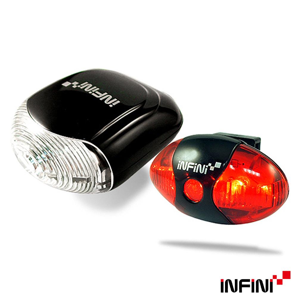 《INFINI VISON》高亮度專業自行車燈組(S + A)