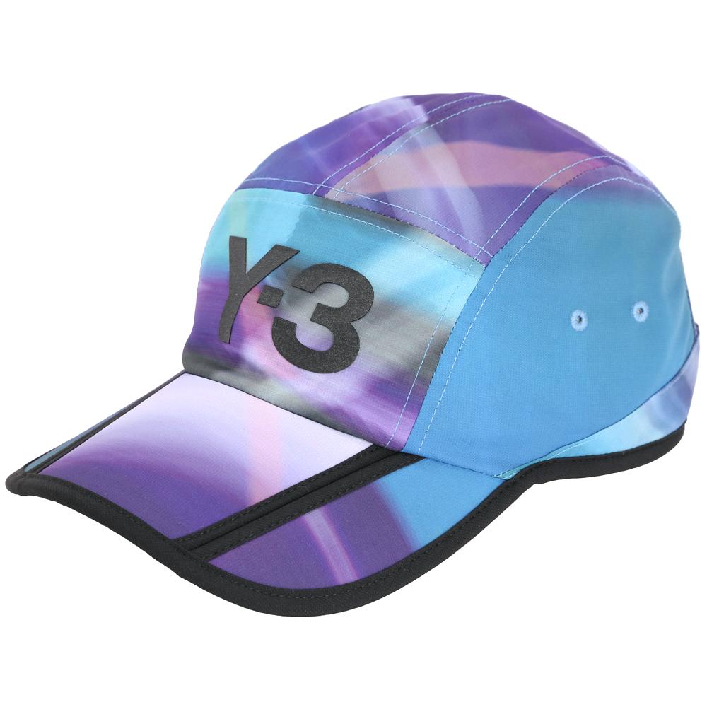 Y-3 AOP 漸層渲彩拼接棒球帽
