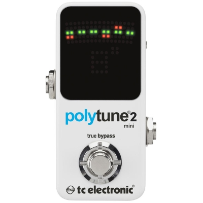 tc electronic Polytune 2 Mini 迷你地板型調音器