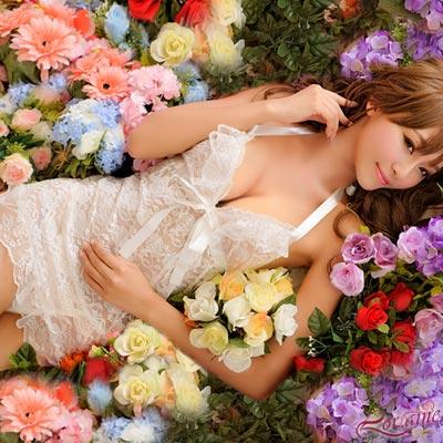 性感睡衣-心愛衣嫁-二件式蕾絲睡襯衣-Lorraine
