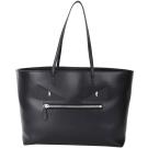 FENDI Roll Bag 怪獸魔眼造型平滑小牛皮購物包(黑色)