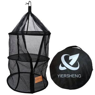 YIERSHENG三層式食物餐具吊籃網籃吊掛式菜籃碗櫥快速到貨