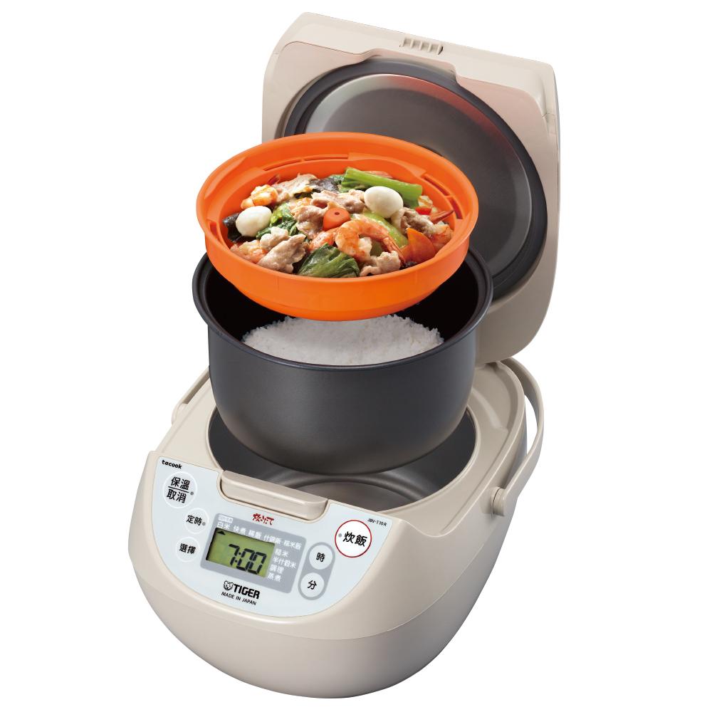 (日本原裝) TIGER虎牌10人份微電腦炊飯電子鍋(JBV-T18R)