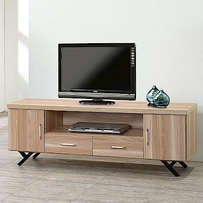Homelike 加納5尺電視櫃(原木色)-147x40x52cm