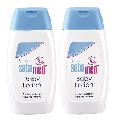 sebamed施巴 嬰兒潤膚乳液200ml <b>2</b>入組