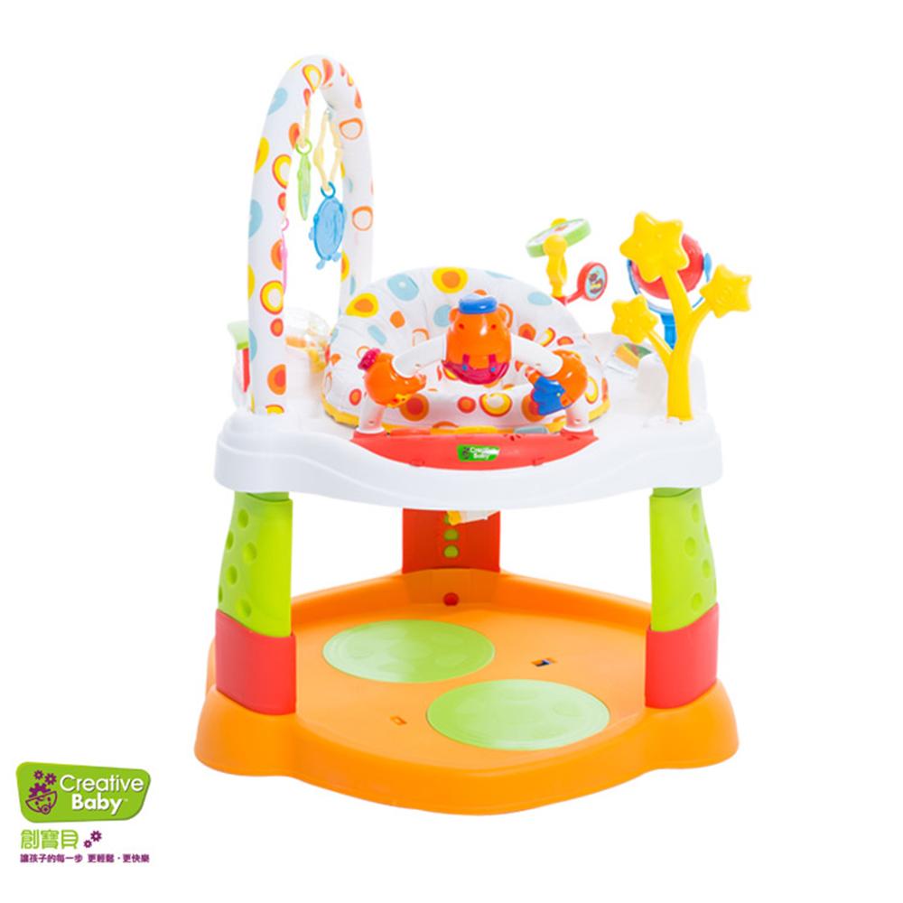 Creative Baby多功能音樂彈跳學步車(Rhyme Tyme)