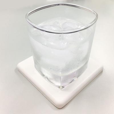 人氣和風珪藻土吸水杯墊-白色