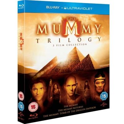 神鬼傳奇-三部曲-Mummy-Trilogy-藍光-BD