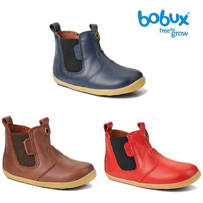 Bobux 紐西蘭 Step up 童鞋學步鞋 經典款皮革馬靴款