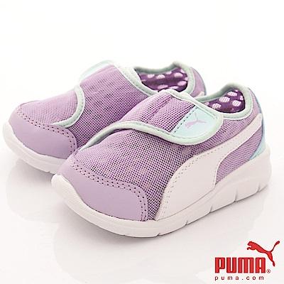 PUMA童鞋 超透氣學步款-90801-03紫(寶寶段)