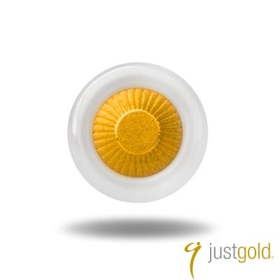 鎮金店Just Gold 黃金單耳耳環- Day & Night 日與夜-白