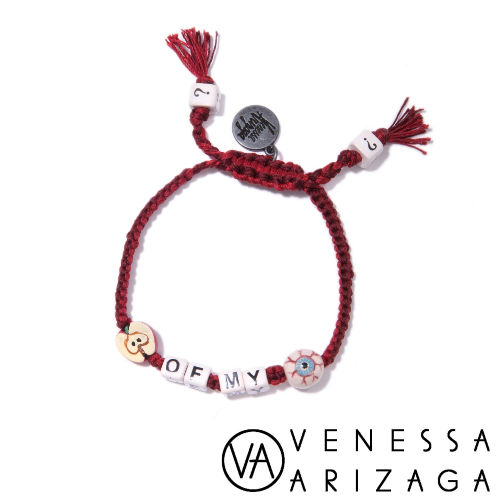 Venessa Arizaga APPLE OF MY EYE 紅色手鍊
