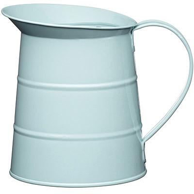 KitchenCraft 復古花器冷水瓶(藍1.1L)