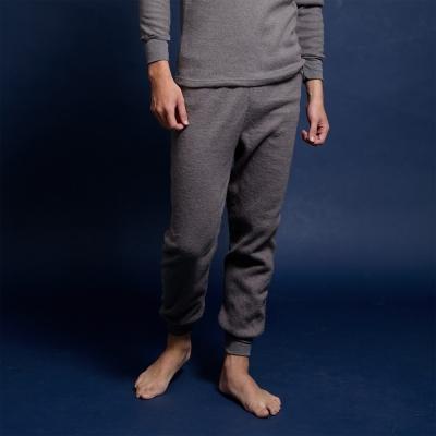 衛生褲 保暖純色衛生褲(灰) 藍伯特男士內衣