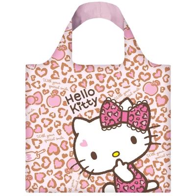 LOQI 春捲包│Hello Kitty - 豹紋 KT01