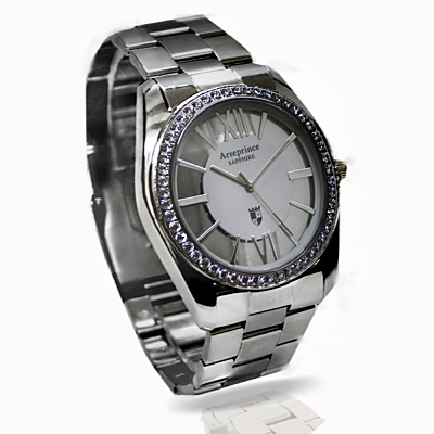 Arseprince不朽神話銀鑽中性錶 –白銀
