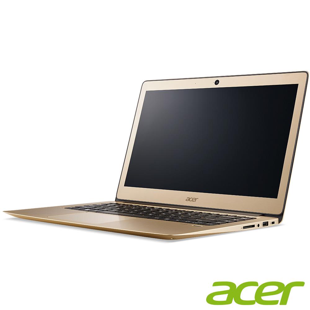 acer SF314-51-55VT 14吋筆電(i5-6200U/8G/256G/金