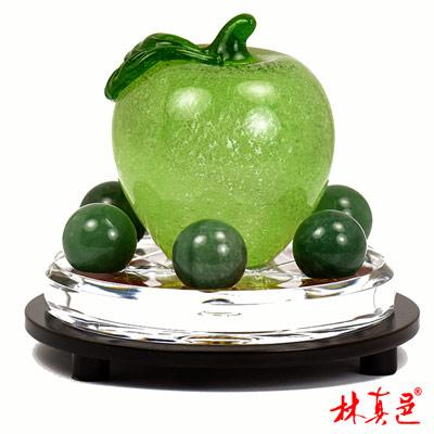 蓬勃發展招大財綠蘋果擺陣 林真邑