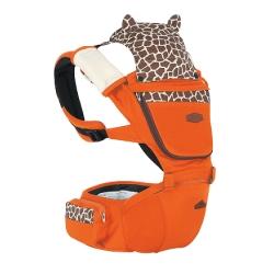 Animal Carnival動物嘉年華座椅式抱嬰揹帶-歐倫橘鹿