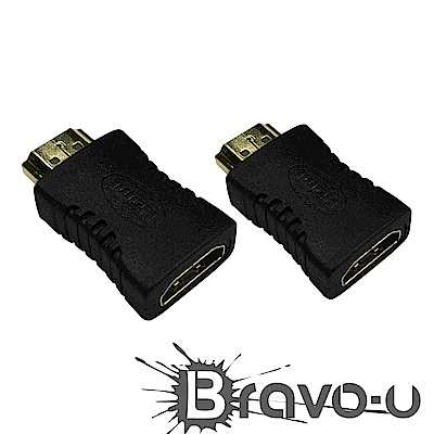 Bravo-u HDMI 公對母轉接頭(2入組)