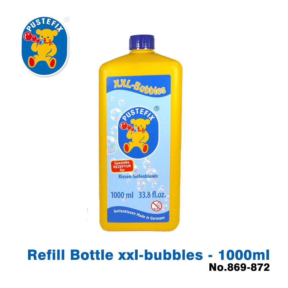 【德國Pustefix】魔法拉繩泡泡專用補充液1000ML - 869-872