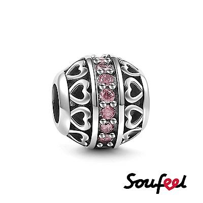 SOUFEEL索菲爾 925純銀珠飾 生日石 十月 串珠