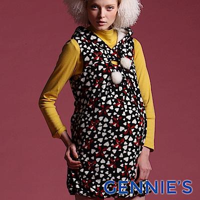 Gennie's奇妮-010系列-繽紛燈籠裙背心洋裝(T2410)