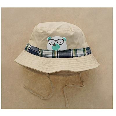 熊寶寶春夏兒童盆帽