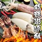 海鮮王 軟體澎派組(大花枝*1包+大軟絲*1包+大尾魷魚串*3P)(適合4-6人份)
