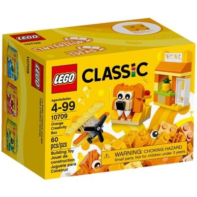 任選 LEGO樂高 經典系列 10709 橘色創意盒 (4Y+)