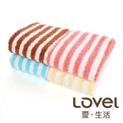 【下殺5折】Lovel日雜塗鴉繽紛幸運草紗布毛巾4入組(4色各1)